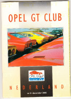OPEL GT CLUB Nederland Magazine - Nr. 4  December  2005 - Tijdschriften