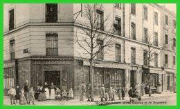 TROIS C.P.A.Avenue/Rond Point Du Parc Rues Dupuis/Bagneux(rectos Versos) - Montrouge