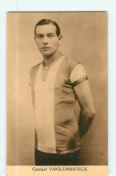 Gustave VAN SLEMBROECK. Gustaaf Vanslembroeck. 2 Scans. Edition Sportkaarten Frank Nels - Cyclisme