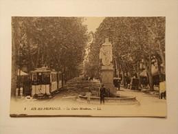 Carte Postale - AIX EN PROVENCE (13) - Le Cours Mirabeau  (5/41) - Aix En Provence