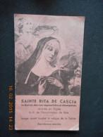 Petit Carnet 12 Pages SAINTE RITA DE CASCIA Sainte Des Cas Impossibles Et Désespérés (prière, Sa Vie) - Religion & Esotérisme