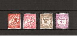 Algérie  1926/32 -  Lot De 04 Timbres Taxe - Yvert# 19 , 13 , 5 , 4  - Neufs Sans Charnières ** - Algérie (1924-1962)