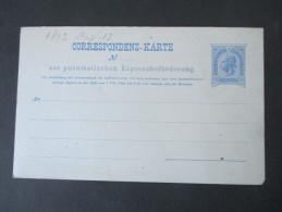 Österreich Rohrpost 1890 RP 14. Ungebraucht Und Guter Zustand! - Entiers Postaux