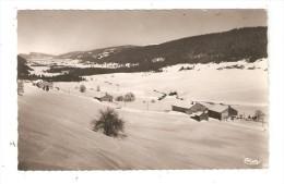 CPA : 39 - Bois D'Amont : Le Cretet & Vallée De Joux - Suisse : Chalets Sous La Neige - Relief - Peu Commune - Francia