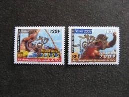 Polynésie: TB Paire N° 661 Et N° 662, Neufs XX. - Neufs