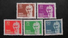 Turkey - 1980 - Mi:2533-7**MNH - Look Scan - 1921-... Republic