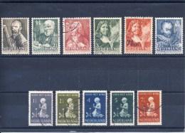 NVPH Nr. 350 T/m 355 En 374 T/m 378 (Zomer- En Kinderzegels 1940) Gebruikt (CW = € 10,30) - Period 1891-1948 (Wilhelmina)
