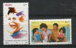 Transplatation D'organes Chez Les Enfants.  Deux T-p Neufs **,  Année 2003 - Mexique