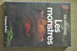 Les Monstres  Alfred Elton VAN VOGT J´AI LU 1985  Coll. Science-Fiction N° 1082 - J'ai Lu