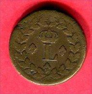 LOUIS XVIII  DECIME. 1814.BB TB 22 - France