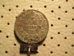 BULGARIA 5 Stotinki 1912      # 1 - Bulgaria