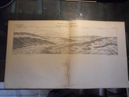 SUISSE VALLEE DE LA VENOGE MAUREMONT LAC LEMAN ECOLE SUPERIEURE DE GUERRE CARTE DE GEOGRAPHIE LIEUTENANT LECHARTIER - Documents