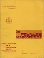 LES FEUILLES MARCOPHILES N°197 - Francés (desde 1941)