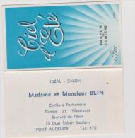 Calendrier   Parfum   1968   Ciel  D  été   , Pont  Audemer - Tamaño Pequeño : 1961-70