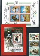 Yemen 1984 2 Full Sets  V MNH  Los Angeles  Olympics  Equestrian Hippisme Chevaux Cheval Horses Horse Caballlos - Summer 1984: Los Angeles