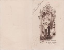 Menu :  1935  , Hotel De La  Gare  , Guilmin  Gustave  MONSECRET  , Orne  Prés    Tinchebray - Menus