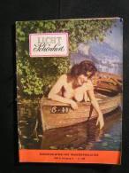 """N° 69 - Magazine """" Licht Und Schönheit 1955  , Monatsblätter Fur Freikörperkultur, ( Revue Allemande ) - Erotic (...-1960)"""