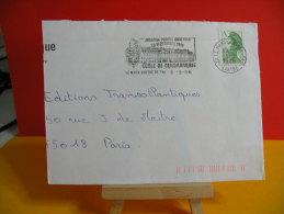 Flamme - 72 Sarthe, Le Mans, École De Gendarmerie - 8.9.1986 - Marcophilie (Lettres)