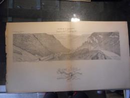 25 ST HIPPOLYTE CLUSE ORGEANS MAICHE DOUBS ECOLE SUPERIEURE DE GUERRE CARTE DE GEOGRAPHIE CAPITAINE LEBLOND - Documents