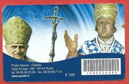 TESSERA FILATELICA ITALIA - 2010 - Anno Giubilare Celestiniano - 6. 1946-.. Repubblica