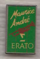 Pin's    /    Trompette  '  '  ERATO '  '  Par Maurice André - Musique