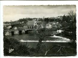 CP - SAINT JUNIEN (87) vue generale prise du pont de la vienne