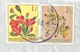 KUMA (MONGALA) 1956 (cachet Violet) - 1947-60: Usados