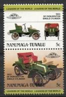 Tuvalu Nanumaga 1984 - De Dion-Bouton Auto Car MNH ** - Tuvalu