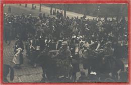 68 - COLMAR - Carte Photo - Défilé Des Troupes Françaises En 1918 - Libération - Colmar