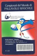 TESSERA FILATELICA ITALIA - 2010 - Campionati Del Mondo Di Pallavolo Maschile - 6. 1946-.. Repubblica