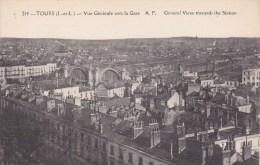 Tours, Vue Générale Vers La Gare - Tours