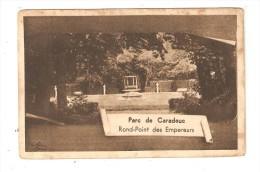 CPA : 35 - Becherel - Château Caradeuc : Parc - Rond Point Des Empereurs : - Bécherel