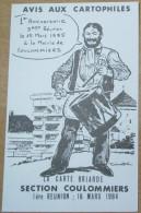 Dimitri  -  Avis Aux Cartophiles - Rare Carte Postale 100ex Numérotée 1984 - Cartes Postales