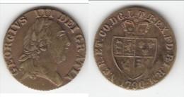 **** GRANDE-BRETAGNE - GREAT-BRITAIN - GEORGIUS III 1790 TOKEN - JETON **** EN ACHAT IMMEDIAT !!! - Royaux/De Noblesse