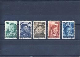 NVPH Nr. 573 T/m 577 Gebruikt (CW = € 17,-) - 1949-1980 (Juliana)