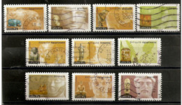 """France 2007 Oblitéré  Autoadhésif  N° 104  à  113  Ou  N° 4002  à  4011   Série Art   Antiquités  """" - Adhesive Stamps"""
