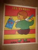 1946 ? LES VERBES  Album à Colorier,   édition Marco , Paris - 6-12 Ans