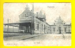 LA GARE Carte Précurseur1906 = PEPINSTER - TREIN-STATION Bahnhof Comboio Estacion Estacio Chemin De Fer Chemins 2434 - Pepinster