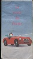 CARTE DE FRANCE - ANNEE 1985 - MG 1960 - LA ROUTE DU RHUM DES FOINS ! - Cartes Routières