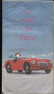 CARTE DE FRANCE - ANNEE 1985 - MG 1960 - LA ROUTE DU RHUM DES FOINS ! - Strassenkarten