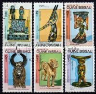 Guinea BISSAU 1984 - Afrikanische Kunst / UNESCO Welterbe - MiNr.786-791 - Kulturen