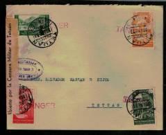 1937. TANGER A TETUAN (EDIFIL 133-134-136-137) - 1931-Hoy: 2ª República - ... Juan Carlos I