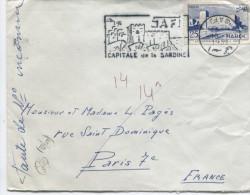 MAROC (Yvert N° 357)Flamme SAFIR Capitale De La Sardine / 1957 - Peces