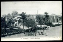 Cpa Algérie Biskra Casino Et Palace Hôtel   JA15 34 - Biskra