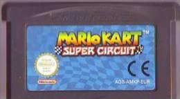 - JEU GAME BOY ADVANCE MARIO KART SUPER CIRCUIT (FONCTIONNE SUR SP) - Nintendo Game Boy