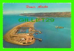 HOMER. ALASKA - THE HOMER SPIT 5 MILES LONG AT KATCHEMAK BAY - TRAVEL IN 1976 - - United States