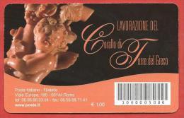 TESSERA FILATELICA ITALIA - 2010 - Made In Italy - Corallo Di Torre Del Greco - 6. 1946-.. Republic