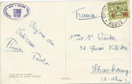 CARTE POSTALE A DESTINATION DE LA FRANCE - Lettres & Documents