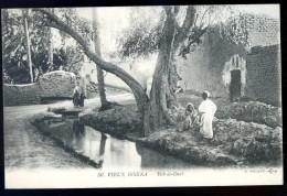 Cpa D´ Algérie Vieux Biskra Bab El Darb    JA15 34 - Biskra