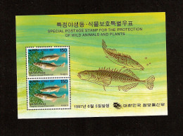 Korea. 1997. Scott 1905a. Fish - Corée Du Sud